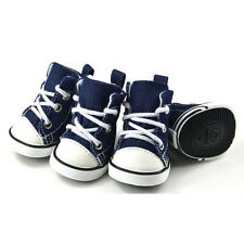 AS Pet Dog Puppy Sporty Cloth Shoes Boots Blue New Casual XS-XL