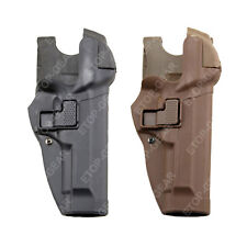 Tactical Right Hand Waist Belt LEVEL 3 Lock Duty Holster for Beretta 92 96 M9