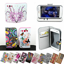 Synthetic Leather Wallet Stand Flip Case Cover For Samsung Galaxy S3 III i9300