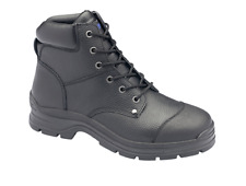 Blundstone Black Rambler Print Lace Up Safety Work Boot - Toe Guard (313)