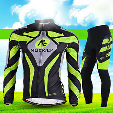 Men's Cycling Jerseys Long Sleeve Jersey Shirts Outdoor Quick-Dry Biking Clothes