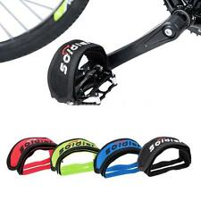 Fixie Bike Bicycle Double Adhesive Straps Pedal Toe Clip Strap Belt 4 Color 73SO