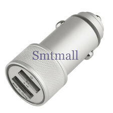 Car Charger Adaptor Bullet Dual USB 2-Port for iPod iPhone 4 5S Samsung GALAXY