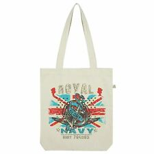 Twisted Envy Union Jack Royal Navy Tote Bag