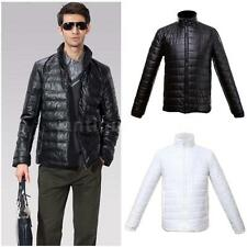 Fashion Mens Winter Slim Fit Jacket Coat Stand-up Collar Parkas Outwear ON SALE