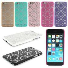 Vintage Palace Flower Pattern Case For iPhone 6 6G PC Hard Back Cover Case Skin