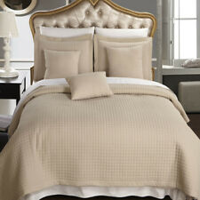 Linen Luxury Checkered Quilted Wrinkle Free Bedspread Set