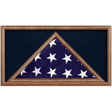 Burial Flag Display Cases - Flag Shadow Box Hand Made By Veterans
