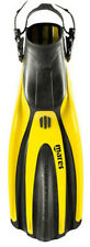Mares Plana Avanti SuperChannel Open Heel Scuba Diving Dive Fins - Yellow