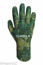 Mares Pure Instinct 3mm Neoprene Camouflage Camo Five Finger Gloves All Sizes