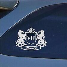 VIP The Lion Funny Cartoon Car Sticker JDM Window Sticker Vinyl Decal