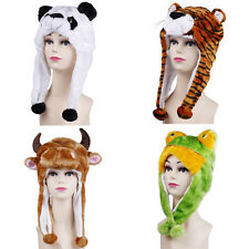 New Popular Cartoon Animal Cute Fancy Costume Mask Warmer Hat Cap Beanie Earmuff