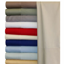 Silky Soft Bamboo Bed Sheets, Olympic-Queen 100% Bamboo Viscose Solid Sheet Set