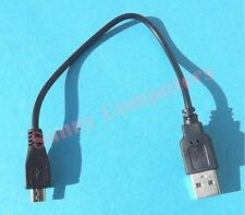 2x Short USB Data Sync Charging Cable Charger Adapter Plug Cord For Mobile Phone