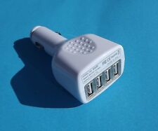 4 Ports USB Car Charger Adapter For Samsung Galaxy Note HTC Sony LG and Cables