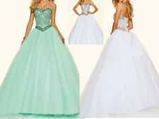Formal Quinceanera Prom Evening Bridesmaid Party Pageant Dress Bridal Ball Gown