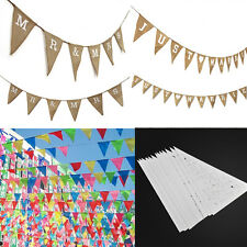 Mr & Mrs JUST MARRIED Wedding Banner Birthday Party Decoration   Bunting Decor