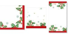 C.R. Gibson Christmas Holiday Dining Party Paper Napkins – Treasured Traditions