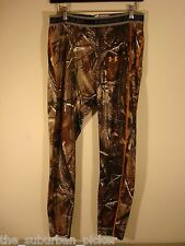 NEW MENS UNDER ARMOUR CAMO BASELAYER PANTS SIZE XL REALTREE AP HD CAMOUFLAGE