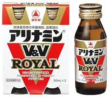 TAKEDA ALINAMIN V&V ROYAL Drinks 50ml x 2/4/6 bottles F/S Vitamin B1, B2, B6