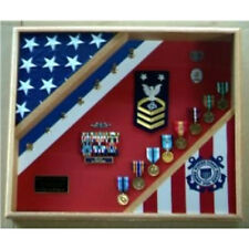 Coast Guard Gifts, Uscg Shadow Box Hand Made By Veterans