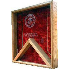 Marine Corps Shadow Box Hand Made By Veterans