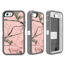 Otterbox Defender Series OEM Real Tree Case Cover for Apple iPhone 5/5S AP Pink