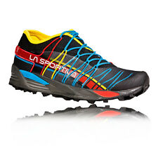 La Sportiva Mutant Mens Red Blue Cushioned Trail Running Sports Shoes Trainers