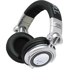 NEW Technics RP-DH1250-S DJ Headphones (Silver/Black)