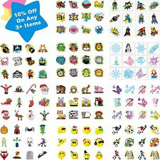 Childrens 36 Temporary Tattoos Kids Party Bag Christmas Stocking Fillers Toys
