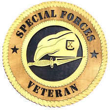 Special Forces Veteran Wall Tribute, Special Forces Veteran Hand Made Gift