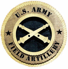 U.S. Army Field Artillery Wall Tribute, U.S. Army Field Artillery Hand Made Gift