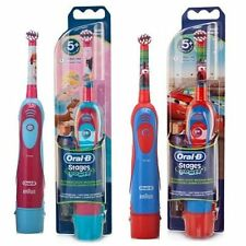 Braun ORAL-B 4510K Stages Power Electric Toothbrush Kids Disney Cars / Princess