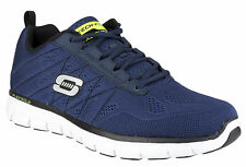 Skechers SK51188 Mens Synergy Power Switch Lace Up Shoes Athletic Sports Sneaker