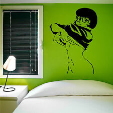 SEXY VELMA SCOOBY DOO Vinyl wall art sticker room decal