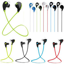 Sport Wireless Bluetooth Headset Stereo Headphone Earphone Earbud for Cell Phone
