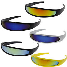 Alien Space Robot Party Costume Cyclops Futuristic Novelty Revo Lens Sunglasses