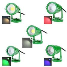 IP65 LED Lawn Spot Light Lamp High Power RGB Warm/Nature White For Outdoor H4JL