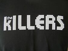 NEW THE KILLERS SPOTLIGHTS OFFICIAL MERCHANDISE BLACK T SHIRT L XL