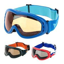 Anti-fog Windproof UV 400 Protection Outdoor Skiing Skating Goggles IW0T
