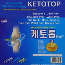 New Ketotop Plaster Pain Relief Patch 238 Sheet Ketoprofen Korea DDS FDA, Zipper