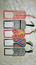 VERA BRADLEY ID LUGGAGE TAG  U-PICK PATTERN COLOR NEW WITH TAGS TEXTURED PVC NWT
