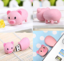 Cartoon pink Pig model USB 2.0 Memory Stick Flash pen Drive 2GB-16Gb U disk