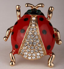 Ladybug stretch ring cute animal bling scarf jewelry gifts dropshipping 4