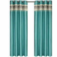 "Blue (54 x 63"") Blackout Multilayer Energy Saving Grommet Milan Curtain Panel"