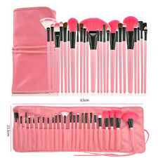 24 Pcs Superior Soft Pro Cosmetic Makeup Brush Set Brushes Kit + Pouch Bag Case