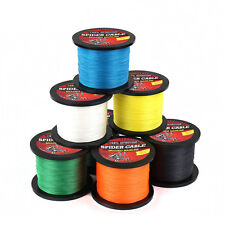 100M 10-100 LB Dyneema 100%PE Spectra Braid Fishing Line Unique Design Strong