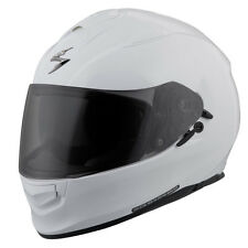 Scorpion CA EXO-T510 Solid Gloss White Motorcycle Riding Helmet