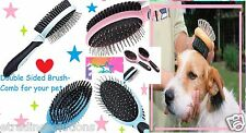 Double Sided Pet Dog Cat Puppy Grooming Brush Pet Hair Fur Groomer Comb