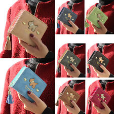 Mini Fashion Womens Ladies Clutch Wallet Short Zip ID Card Holder Purse Handbag